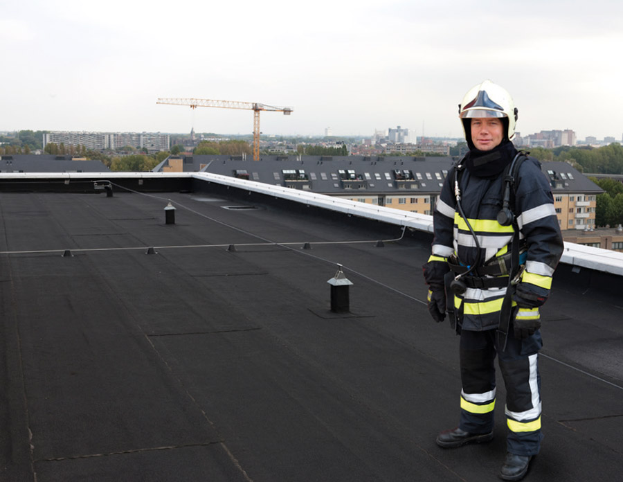 IKO brandwerende dakbanen