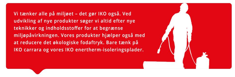 Bæredygtighed IKO