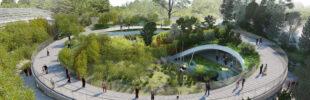 IKO carrara roofing membrane in The Zoo of Copenhagen