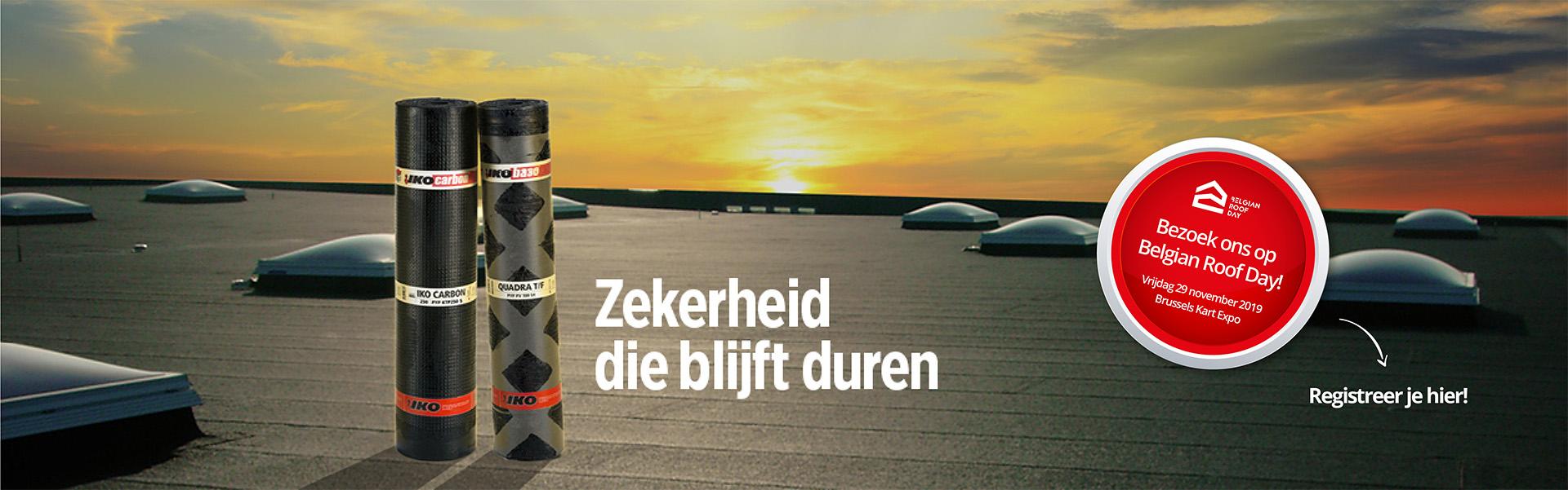 Bezoek ons op Belgian Roof Day !